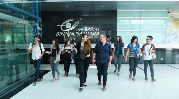 BINUS UNIVERSITY Postgraduate Programmes image