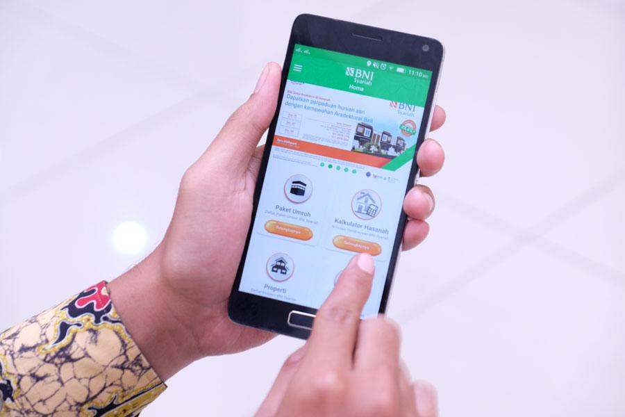 BNI Syariah Information Technology, Mobile Banking