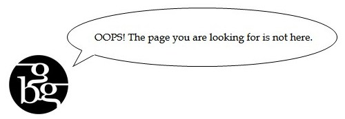 OOPS! The page you are looking for is not here.